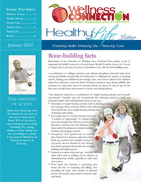 health and wellness newsletter template wellness news images