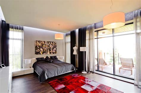 red rugs for bedroom bedroom red rug balcony large family residence in kiev