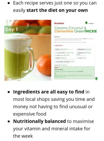Detox Juice Diet Singapore by Green Smoothie 7 Day Detox Diet Plan For Sale From