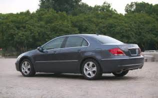 2005 acura rl left rear quarter view photo 12
