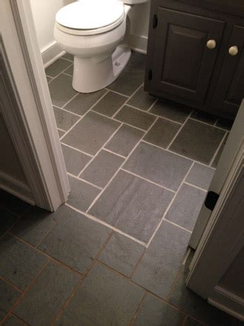 how to whiten grout in bathroom making old discolored grout look like new young house love