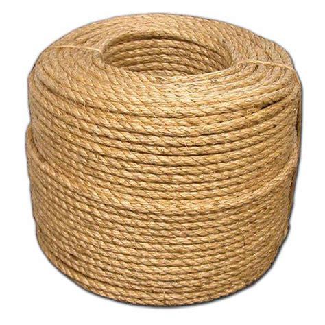 t w cordage 3 8 in x 600 ft premium manila rope