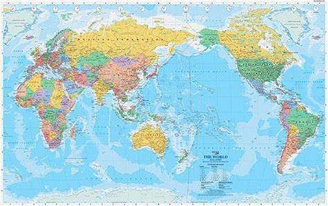 australian map of world do australians read the world map geography