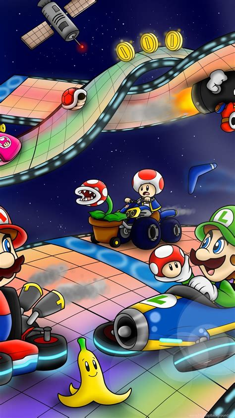 mario kart  hd wallpapers desktop background