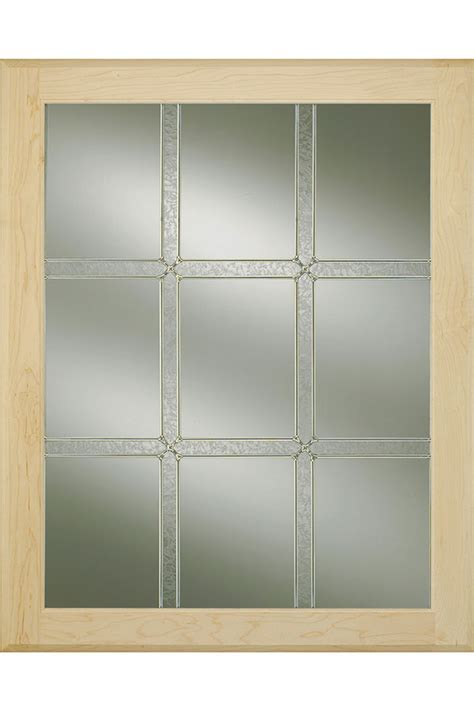 Glass Cabinet Door Inserts by Winslow Glass Cabinet Insert Decora Cabinetry
