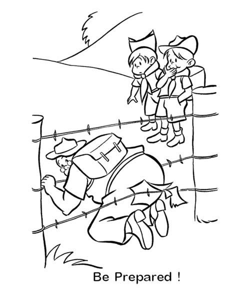 Free Coloring Pages Of Wolf Cub Scout Cub Scouts Coloring Pages