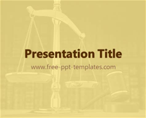 law ppt template free powerpoint templates