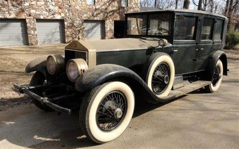 rolls royce barn find just a car barnfind 1927 rolls royce of mrs anheuser