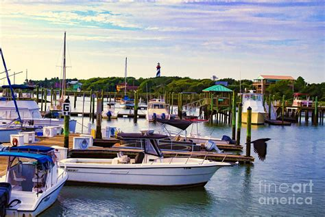 Conch House Marina And Lighthouse Photograph By C W Hooper