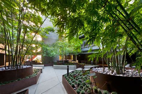 Sierra Bonita Apartments In West Hollywood By Ahbe Apartment Landscape Design