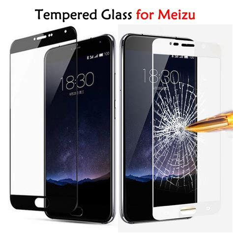 Meizu M3s Cover Tempered Glass Screen Protector Anti Gores Kaca tempered glass for meizu