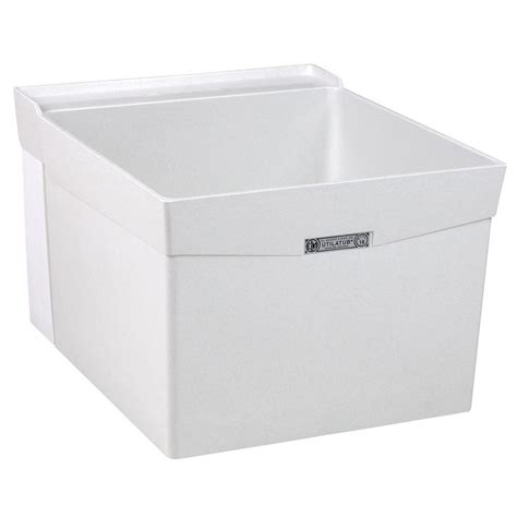 Laundry Tub With mustee utilatub 20 in x 24 in fiberglass wall mount