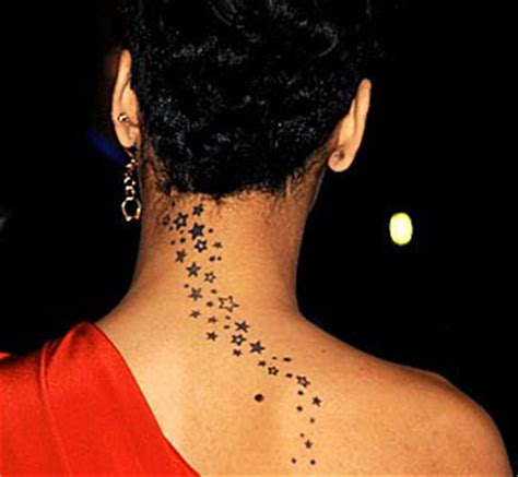 rihanna star tattoo chini live keeping up with the buzz rihanna s