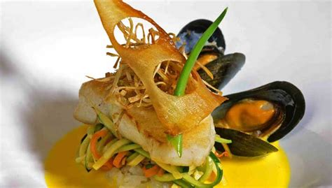 cuisine fusion d馭inition the empty white plate the fusions in food