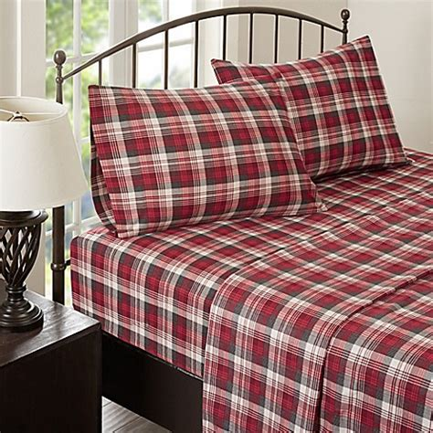 woolrich bedding discontinued woolrich 174 tasha flannel sheet set bed bath beyond