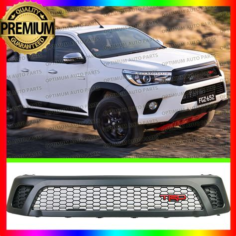 Front Grille Trd Sportivo All New Hilux front grill grille black trd style toyota hilux revo sr5 m70 m80 2015 2016 2017 ebay