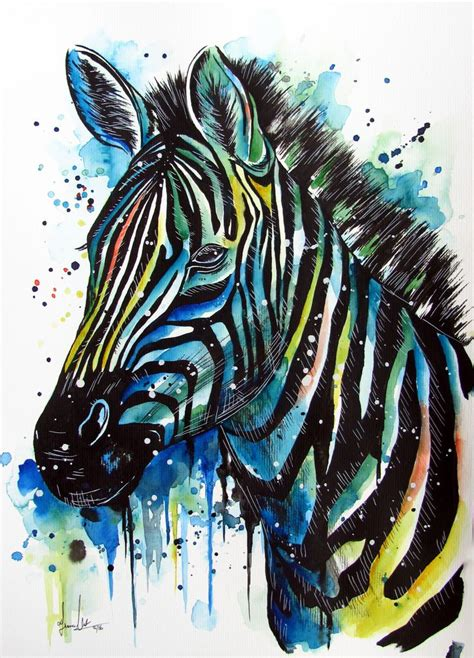 watercolor tattoo zebra 149 best watercolour images on watercolour