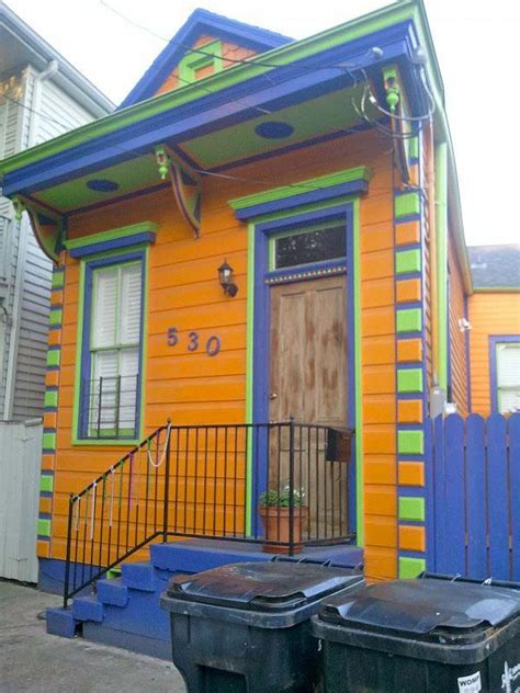 new orleans colorful houses new orleans tiny colorful house well i wish i was in