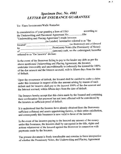Letter Of Intent To Purchase Mortgage Note Gas Products