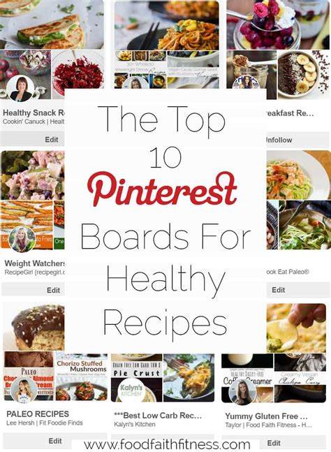 top pinterest boards the top 10 best pinterest boards for healthy recipes
