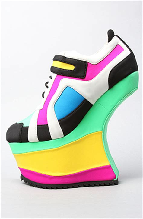 high heel sneakers by jeffrey cbell high heels daily