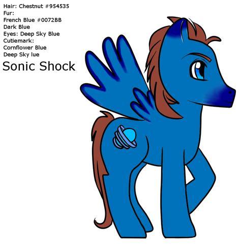 As Shock Sonic Blue mlp sonic shock profile fin by wildnature03 on deviantart