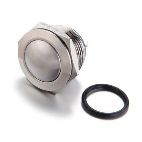 Saklar Push On Nikel 12 Mm 5a 12v push button switch 19 mm nickel plated brass bell push silver o8e1 ebay
