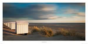 poster photo cabines de hardelot plage c 244 te d
