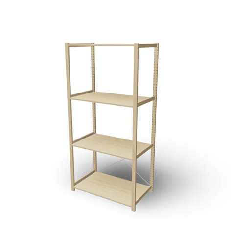 ivar 1 section with shelves design and decorate your