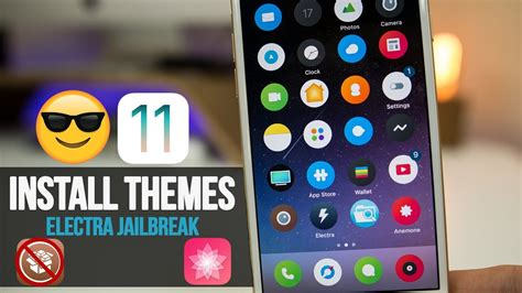 black jailbreak themes how to install themes without cydia ios 11 11 1 2 no