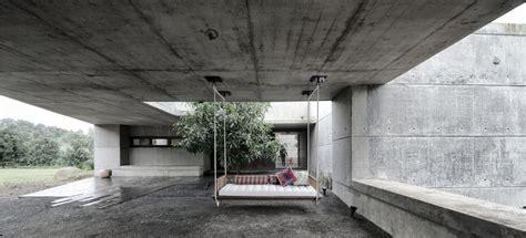concrete home design concrete bunker like house is monsoon proof modern house