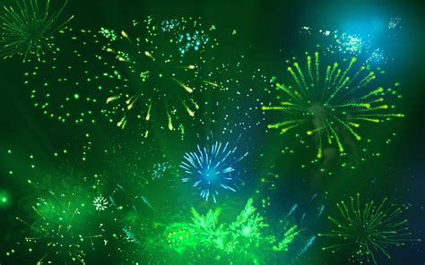 wallpaper green blue hd hd blue green fireworks wallpaper screensavers hacked by