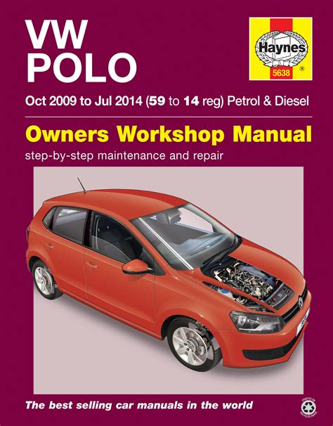 car repair manuals online free 1998 volkswagen golf interior lighting vw polo 2009 2014 haynes publishing
