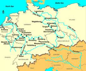 map of rivers and cities germany cruises germany cruise germany river cruises