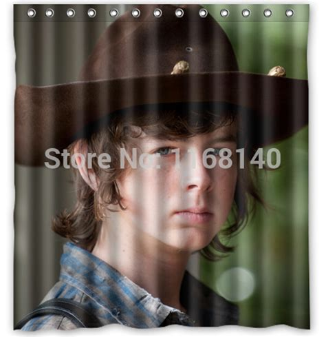 walking dead bathroom home decor the walking dead star chandler riggs shower
