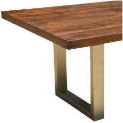 Solid Wood Dining Table Rustic Acacia Lyon Large Contemporary Rustic Solid Acacia Wood Dining Table