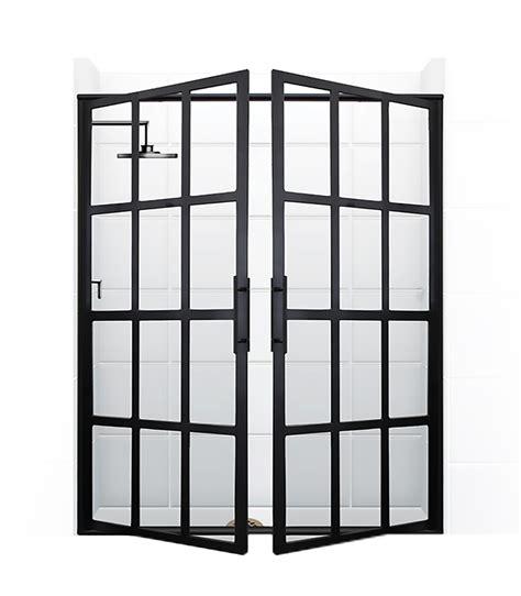 gridscape 174 series coastal shower doors