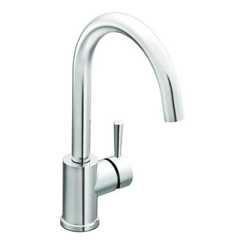 Moen Level Kitchen Faucet Moen 7100 Level One Handle High Arc Kitchen Faucet Chrome Brewer7777