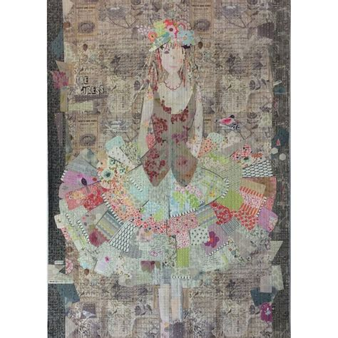 om pattern works dress collage pattern by fibreworks by fibreworks inc