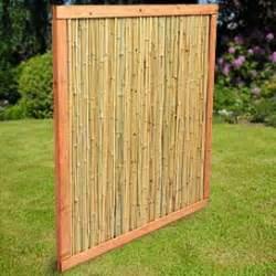 sichtschutzwände für den garten bambus sichtschutz balkon obi carprola for