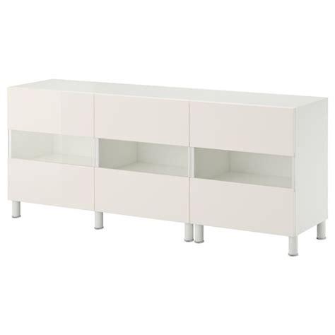 ikea besta white gloss best 197 storage combination w glass doors white tofta high