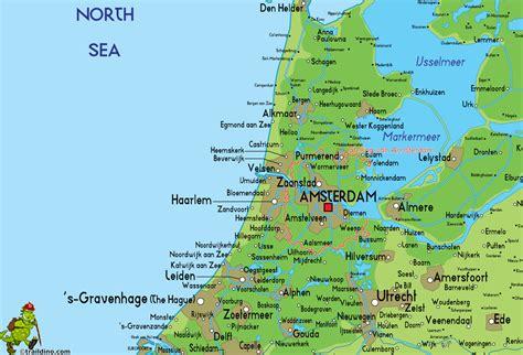 amsterdam netherlands map europe amsterdam mapa europa