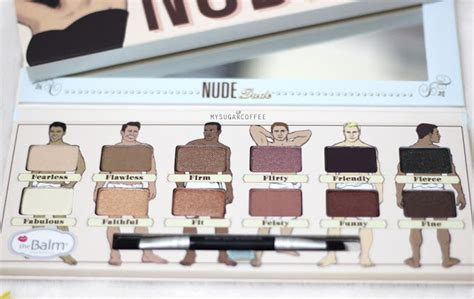Thebalm Tude Palette my sugarcoffee review the balm dude palette