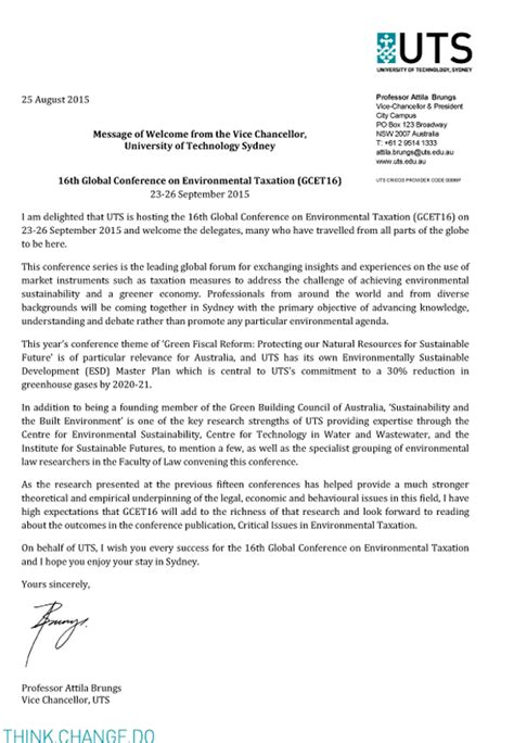 appointment letter vice chancellor uts vice chancellor s welcome of technology