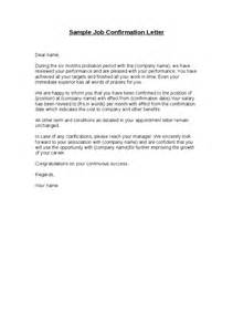 Resignation Letter Within 3 Month Probation Sle Confirmation Letter Hashdoc