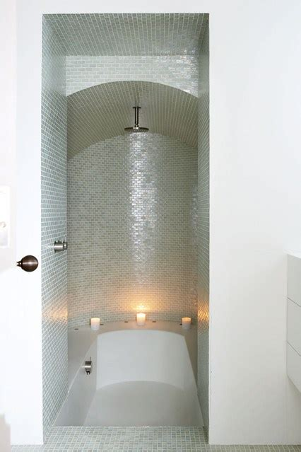 En suite Hybird Bath And Shower   Small Spaces Design