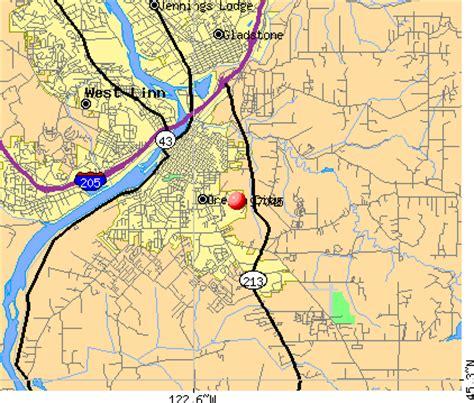zip code lincoln city oregon oregon city zip code map zip code map