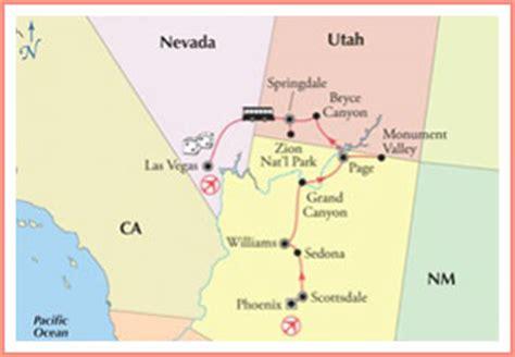 road map of utah and nevada best summer road trips