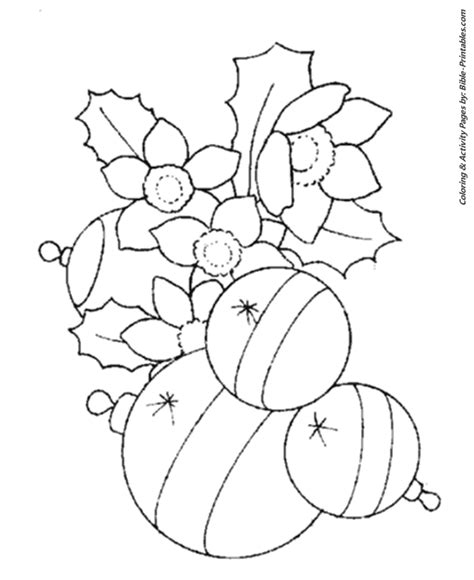 christmas scenes coloring pages christmas tree decorations