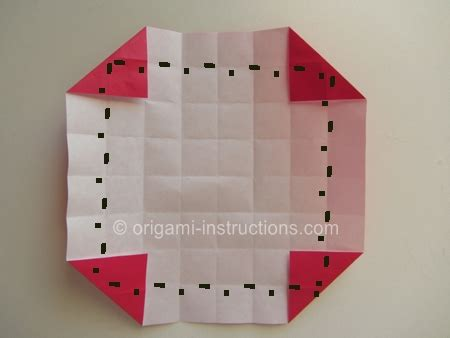 Checkered Origami - origami checkered folding